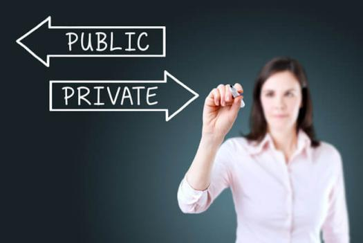 private vs  public  choose your accounting career path