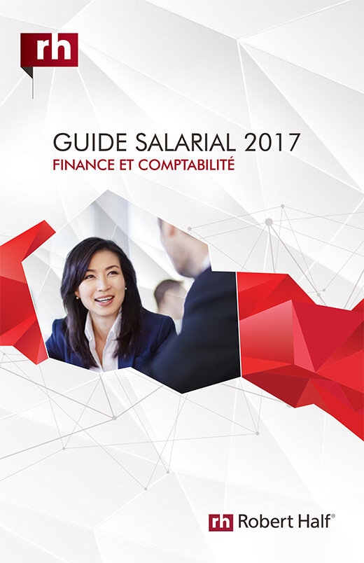 The cover of the 2017 Salary Guide for Accounting and Finance