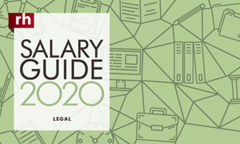 Robert Half Salary Guide 2020 for Legal: View the pdf