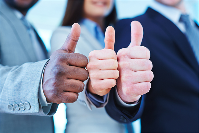 Temporary accounting professionals give a thumbs up to their profession