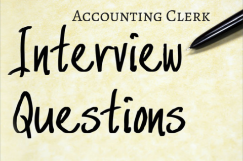 Jot down these essential accounting clerk interview questions