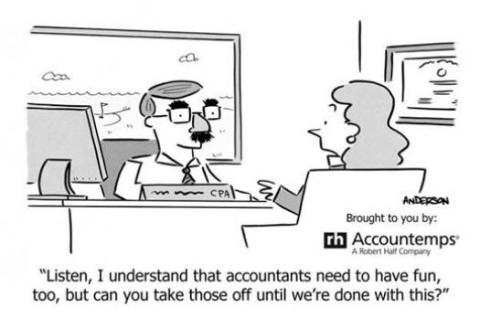 LOL: What a Little Accounting Humour Can Bring to Your Life