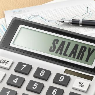 How to Answer, 'What's Your Expected Salary?' — the word salary on a calculator