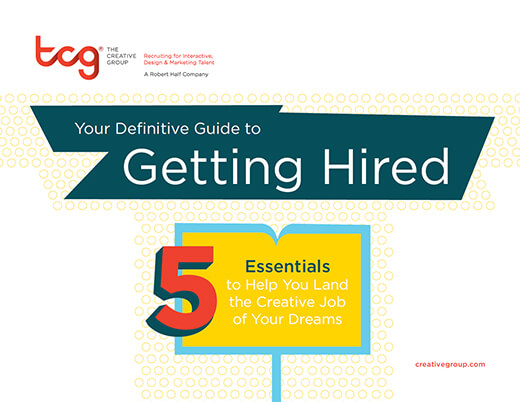 The cover of Your Definitive Guide to Getting Hired from Robert Half